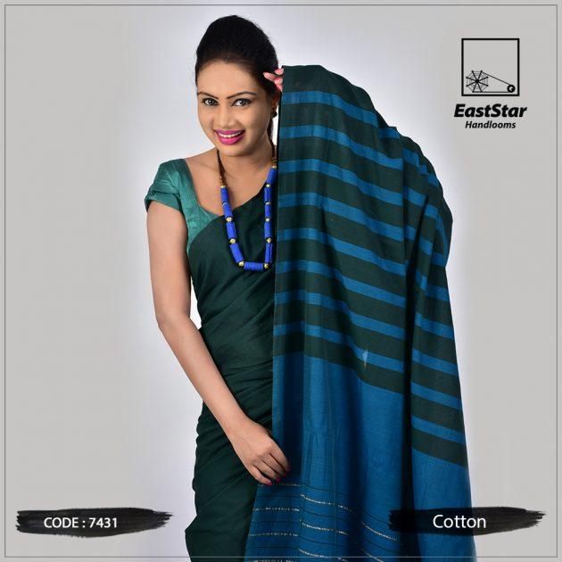 Handloom Cotton Saree 7431