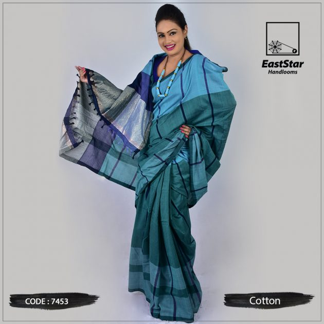 Handloom Cotton Saree 7453