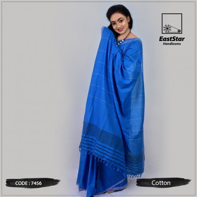 Handloom Cotton Saree 7456