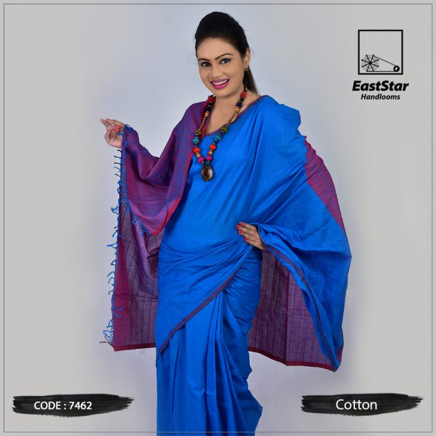 Handloom Cotton Saree 7462
