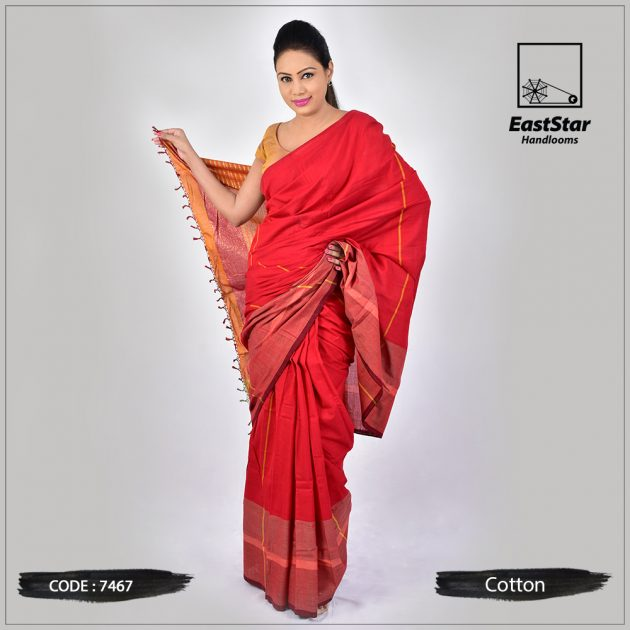 Handloom Cotton Saree 7467