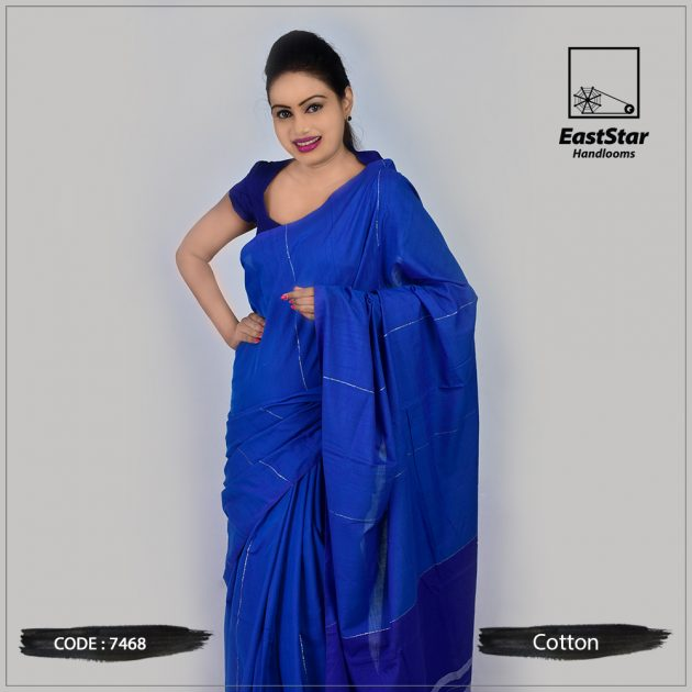 Handloom Cotton Saree 7468