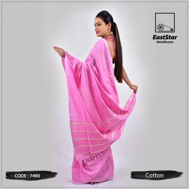 Handloom Cotton Saree 7490
