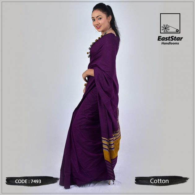 Handloom Cotton Saree 7493