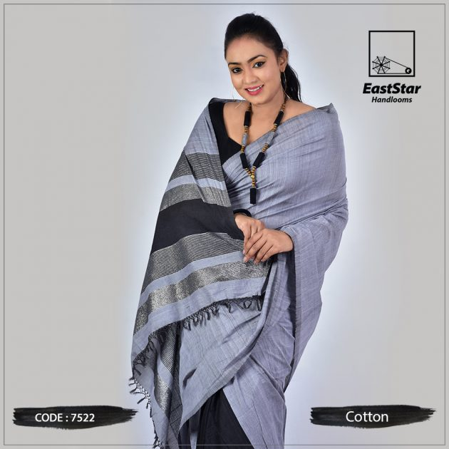 Handloom Cotton Saree 7522