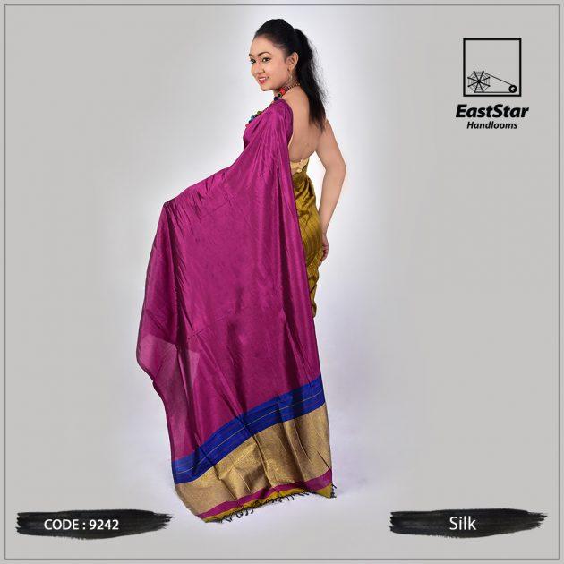 Handloom Silk Saree 9242