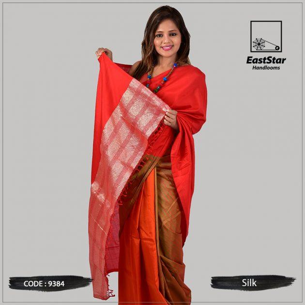 Handloom Silk Saree 9384