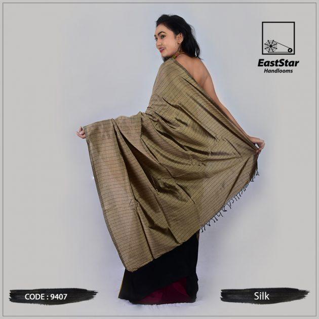 Handloom Silk Saree 9407