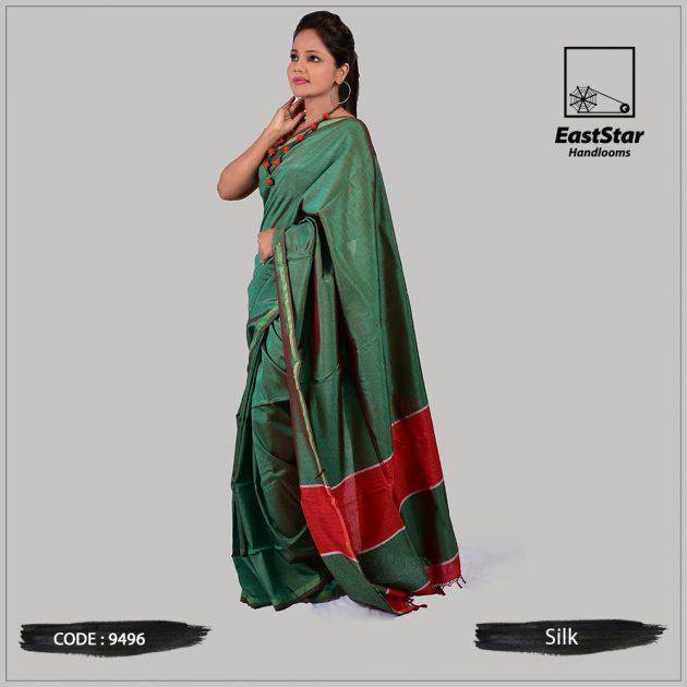 Handloom Silk Saree 9496