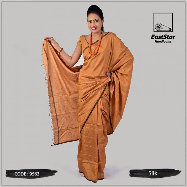 Handloom Silk Saree 9563