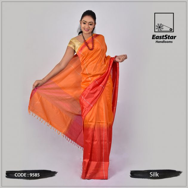Handloom Silk Saree 9585