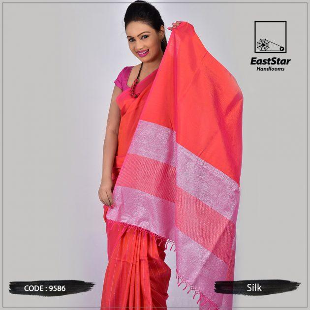 Handloom Silk Saree 9586