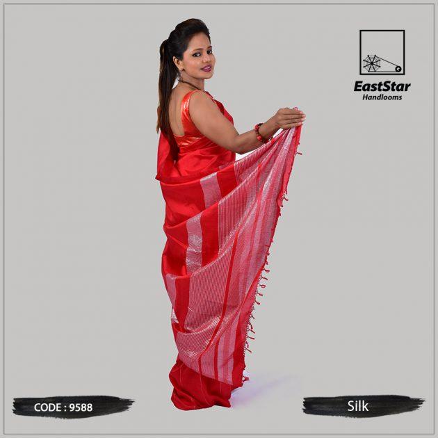 Handloom Silk Saree 9588