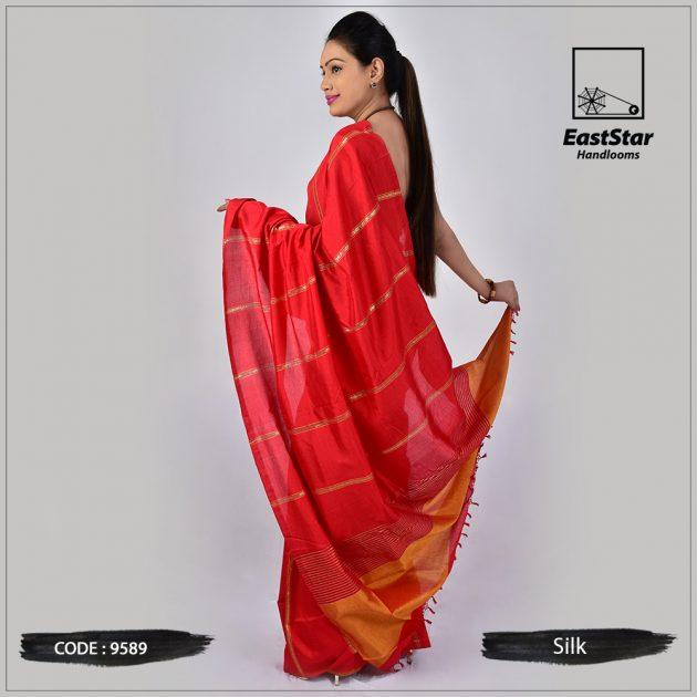 Handloom Silk Saree 9589