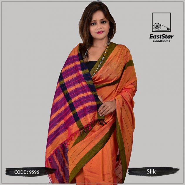 Handloom Silk Saree 9596