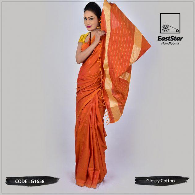 Handloom Glossy Cotton G1658