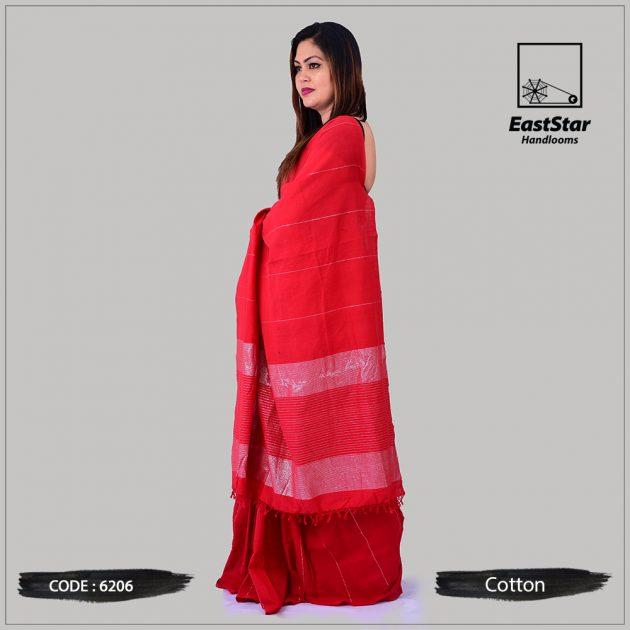 Handloom Cotton Saree 6206