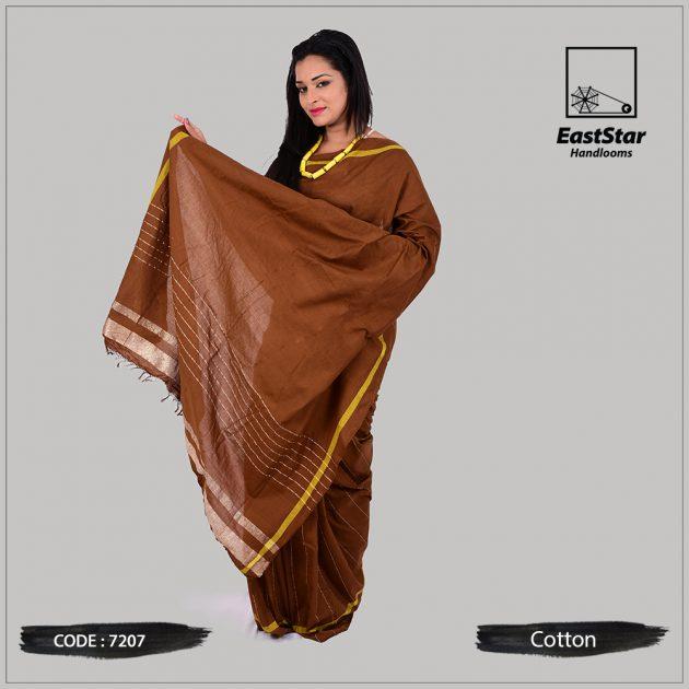 Handloom Cotton Saree 7207