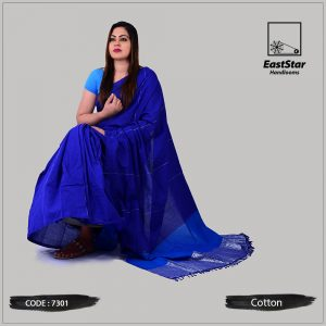 Handloom Cotton Saree 7301