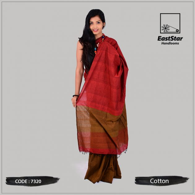 Handloom Cotton Saree 7320