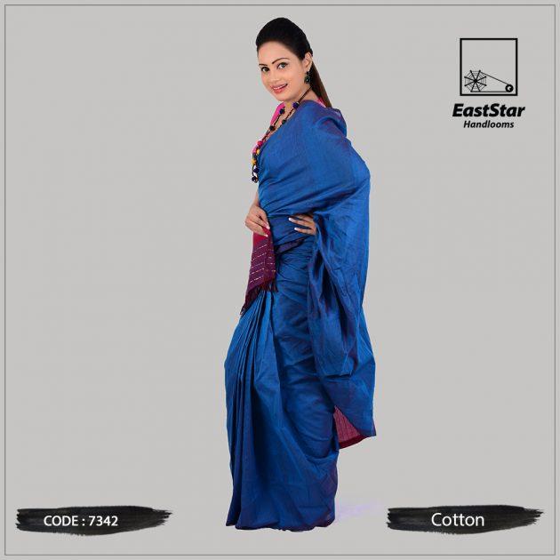Handloom Cotton Saree 7342