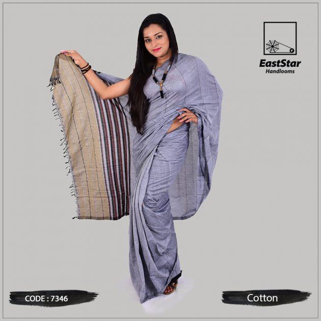 Handloom Cotton Saree 7346