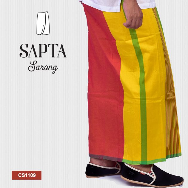 Handloom Sapta Sarong CS1109