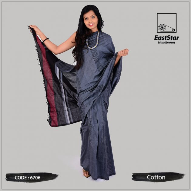 Handloom Cotton Saree 6706