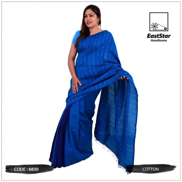 Handloom Cotton Saree 6830