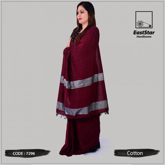 Handloom Cotton Saree 7296