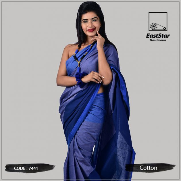 Handloom Cotton Saree 7441