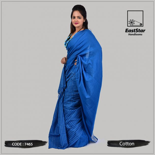 Handloom Cotton Saree 7465