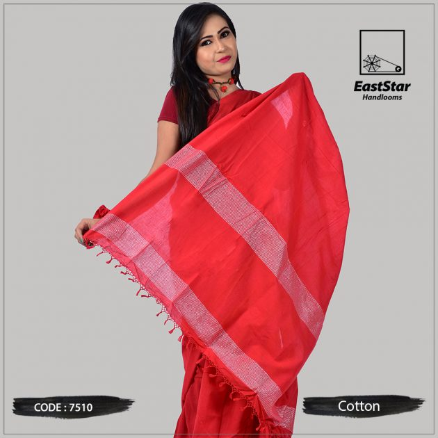 Handloom Cotton Saree 7510