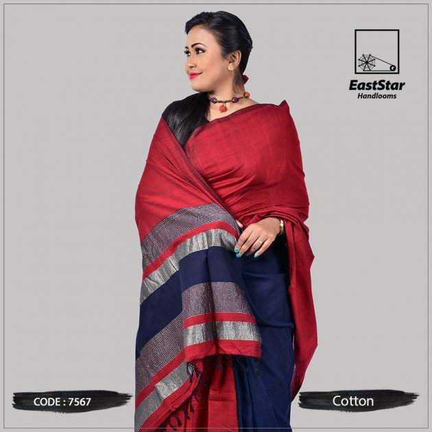 Handloom Cotton Saree 7567