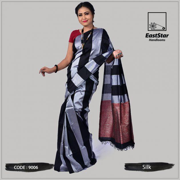 Handloom Silk Saree 9006