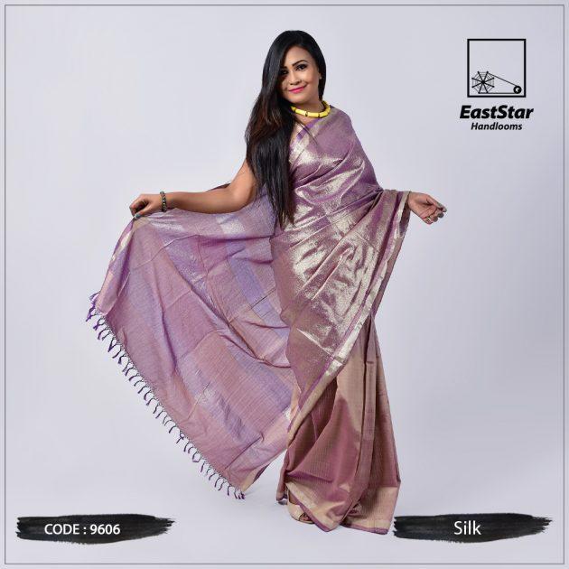 Handloom Silk Saree 9606