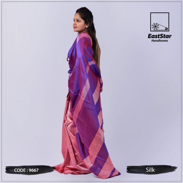 Handloom Silk Saree 9667