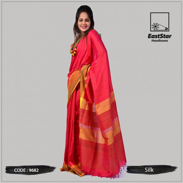 Handloom Silk Saree 9682