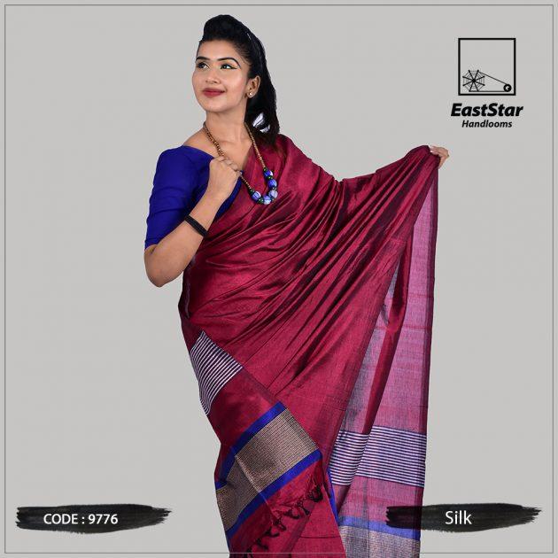 Handloom Silk Saree 9776
