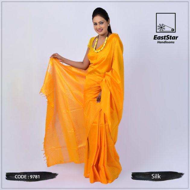 Handloom Silk Saree 9781