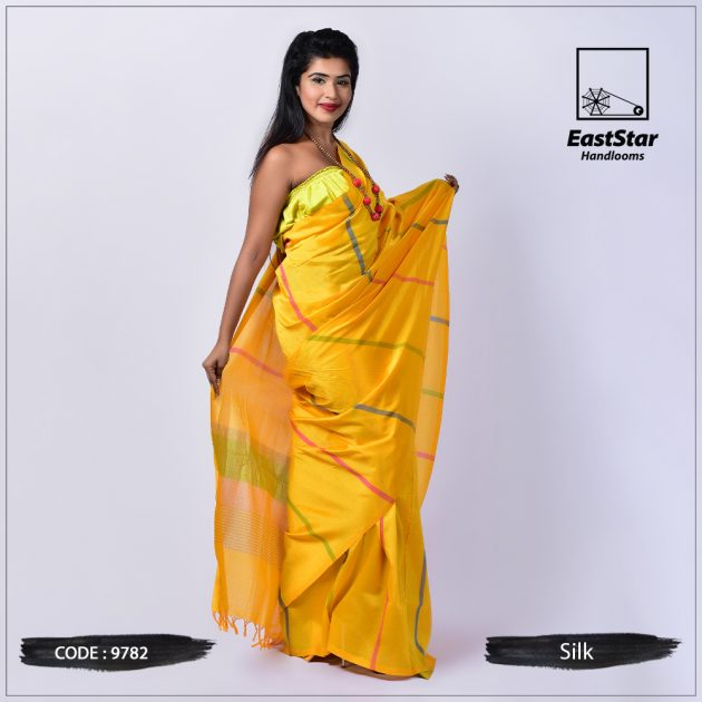 Handloom Silk Saree 9782
