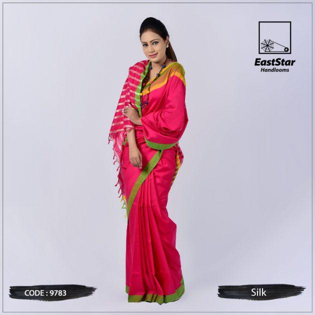 Handloom Silk Saree 9783