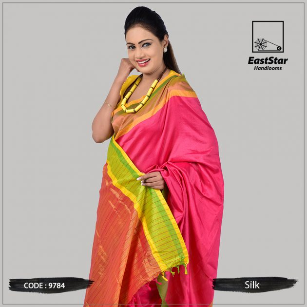 Handloom Silk Saree 9784