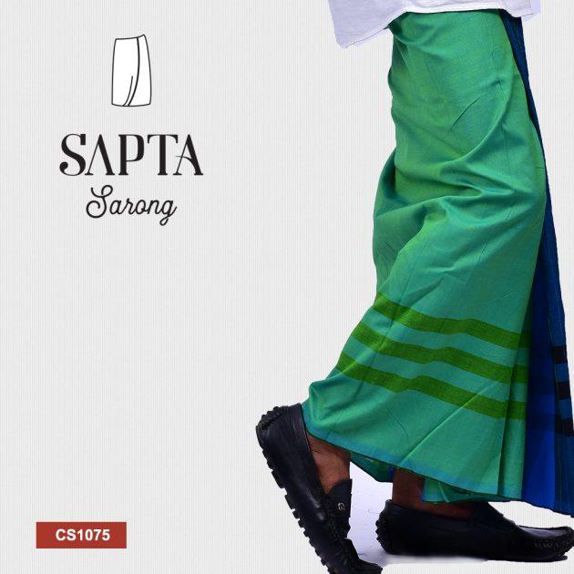 Handloom Cotton Sapta Sarong CS1075