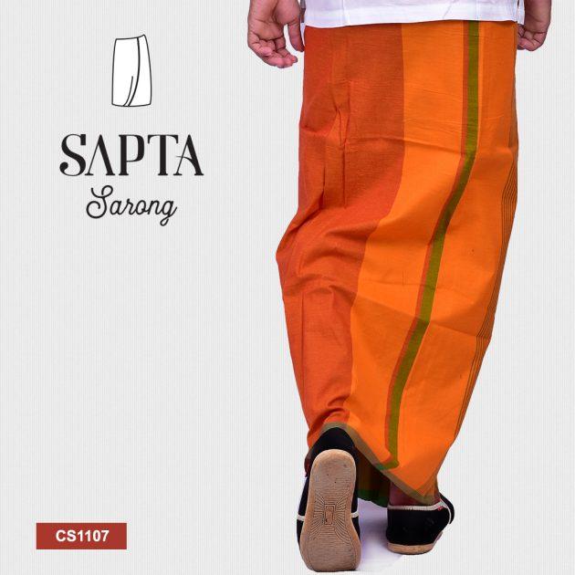 Handloom Cotton Sapta Sarong CS1107