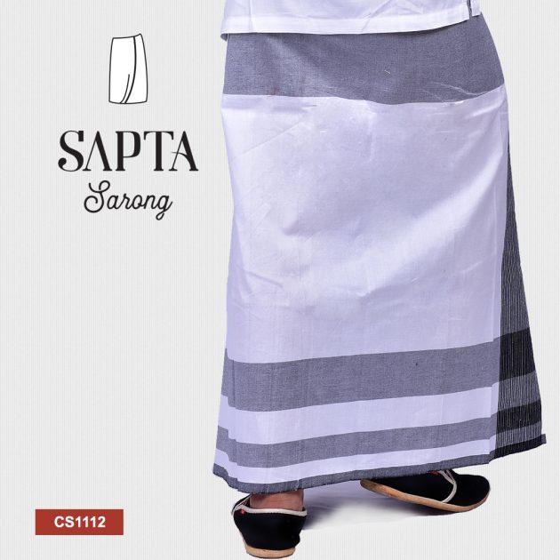 Handloom Cotton Sapta Sarong CS1112