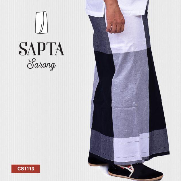 Handloom Cotton Sapta Sarong CS1113
