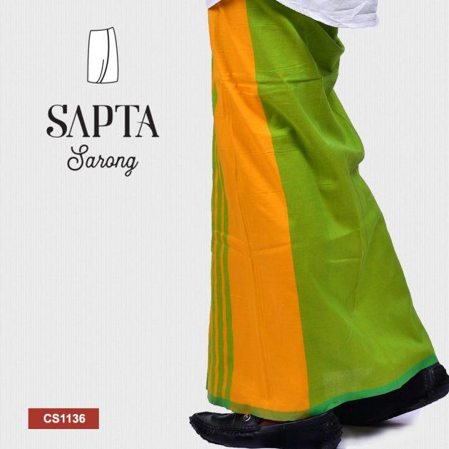 Handloom Cotton Sapta Sarong CS1136