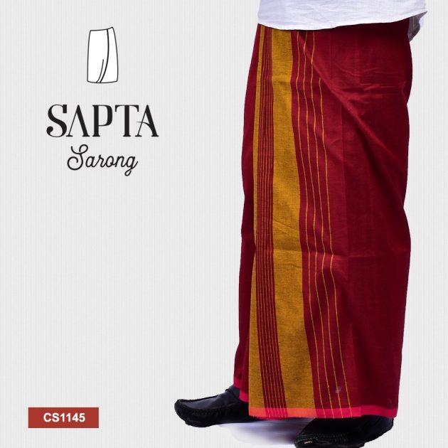 Handloom Cotton Sapta Sarong CS1145