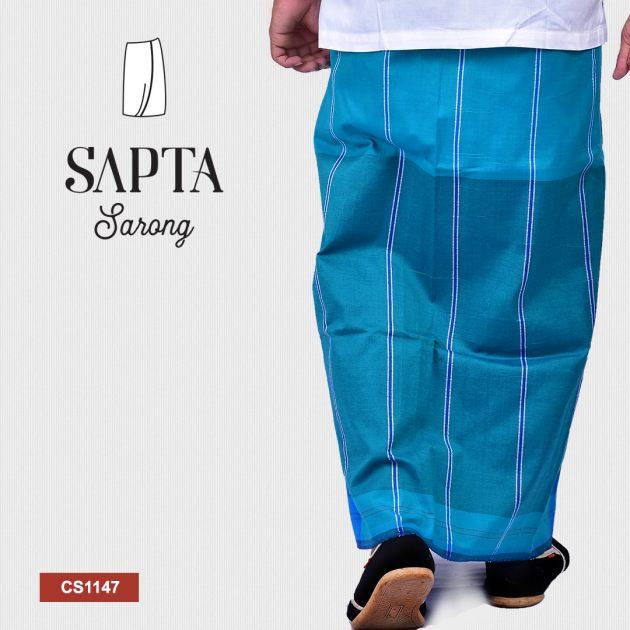 Handloom Cotton Sapta Sarong CS1147